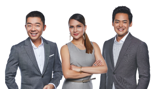 Prime Time with Michelle Martin, Bernard Lim & Finance Presenter JP Ong