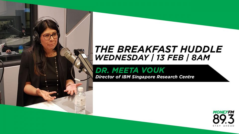 Dr  Meeta Vouk, Director, IBM Singapore Research Centre