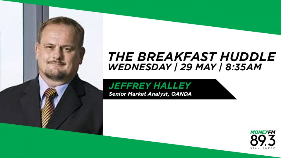 Jeffrey Halley, Senior Market Analyst, OANDA